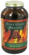 WarriorForce - Warrior Food Elite Green Protein Cool Green - 500 Grams (818596010149)