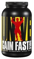 Universal Nutrition - Gain Fast 3100 Anabolic Weight Gain Supplement Cookies & Cream - 5.1 lbs.