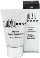 Image of Zuzu Luxe - Oil-Free Liquid Foundation L-19 Medium/Dark Skin 18 SPF - 1 oz.