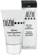 Image of Zuzu Luxe - Oil-Free Liquid Foundation L-6 Light/Ivory Skin 18 SPF - 1 oz.