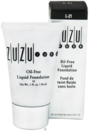 Zuzu Luxe - Oil-Free Liquid Foundation L-21 Dark Skin 18 SPF - 1 oz. CLEARANCE PRICED