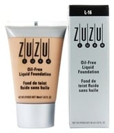 Image of Zuzu Luxe - Oil-Free Liquid Foundation L-16 Medium/Dark Skin 18 SPF - 1 oz.