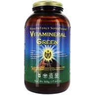HealthForce Nutritionals - Vitamineral Green Powder Version 5.2 - 500 Grams (650786000215)