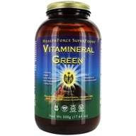 HealthForce Nutritionals - Vitamineral Green Powder Version 5.2 - 500 Grams, from category: Nutritional Supplements