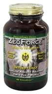 Image of HealthForce Nutritionals - ZeoForce Zeolite Detoxify Daily - 60 Vegetarian Capsules
