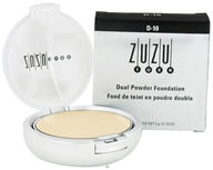Image of Zuzu Luxe - Dual Powder Foundation D-10 Paly/Ivory Skin - 0.32 oz.