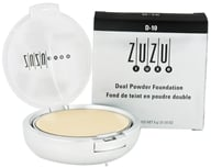 Zuzu Luxe - Dual Powder Foundation D-10 Paly/Ivory Skin - 0.32 oz.