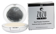 Zuzu Luxe - Dual Powder Foundation D-4 Pale/Ivory Skin - 0.32 oz.