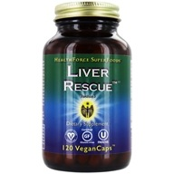 HealthForce Nutritionals - Liver Rescue 5+ - 120 Vegetarian Capsules (650786000475)