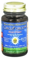 HealthForce Nutritionals - CircuForce Brain Power with Ginkgo Extract 500 mg. - 30 Vegetarian Capsules