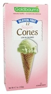 Goldbaum's - Gluten Free Ice Cream Cones Sugar - 12 Cone(s), from category: Health Foods