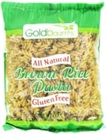 Image of Goldbaum's - All Natural Brown Rice Pasta Gluten Free Spirals - 16 oz.