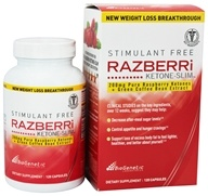 Image of BioGenetic Laboratories - Razberri Ketone-Slim with Green Coffee Bean Extract 200 mg. - 120 Capsules