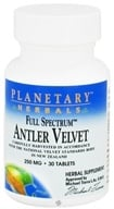 Planetary Herbals - Antler Velvet Full Spectrum 250 mg. - 30 Tablets (021078104537)