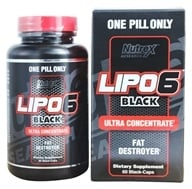 Nutrex - Lipo 6 Black Ultra Concentrate - 60 Capsules, from category: Diet & Weight Loss