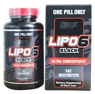 Lipo 6 Black Ultra Concentrate - 60 Capsules by Nutrex