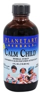 Planetary Herbals - Calm Child Herbal Syrup - 4 oz.