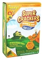 Funley's - All Natural Super Crackers 100 Calorie Snack Packs Cheddar N' Stuff - 6 x 0.7 oz. Packs by Funley's