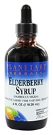 Image of Planetary Herbals - Elderberry Syrup - 4 oz.