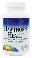 Planetary Herbals - Hawthorn Heart Cardiovascular System Support 900 mg. - 120 Tablets, from category: Herbs