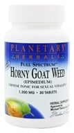 Planetary Herbals - Horny Goat Weed Full Spectrum Double Potency 1200 mg. - 30 Tablets - $7.65