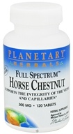 Image of Planetary Herbals - Horse Chestnut Full Spectrum 300 mg. - 120 Tablets