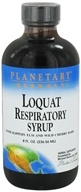 Planetary Herbals - Loquat Respiratory Syrup - 8 oz., from category: Herbs
