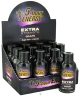 5 Hour Energy - Energy Shot Extra Strength Grape Flavor - 12 x 1.93 oz. Bottles