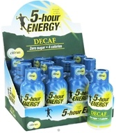 5 Hour Energy - Energy Shot Decaf Citrus Flavor - 1.93 oz. CLEARANCE PRICED (719410600013)