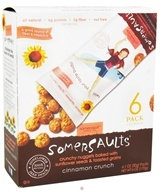 Somersaults - Crunchy Nuggets Sunflower Seed Snack Packs Cinnamon Crunch - 6 Pack(s) by Somersaults