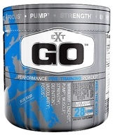EXT Sports - Go Performance Pre-Training Powder Blue Raspberry - 4.9 oz. CLEARANCE PRICED, from category: Sports Nutrition