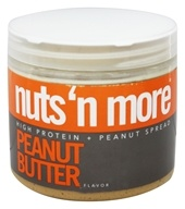 Nuts N More - Peanut Butter - 16 oz. (609132002427)