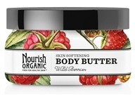 Nourish - Organic Body Butter Wild Berries - 3.6 oz. by Nourish