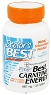 Doctor's Best - Best Carnitine Energy 2000 mg. - 90 Tablets CLEARANCE PRICED