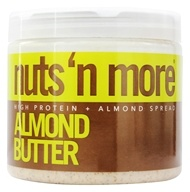 Image of Nuts N More - Almond Butter - 16 oz.