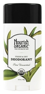 Nourish - Organic Deodorant Pure Unscented - 2.2 oz. (667383105014)