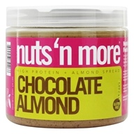 Image of Nuts N More - Chocolate Almond Butter - 16 oz.