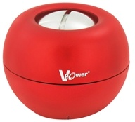 DFX Sports & Fitness - V-Power Gyro Exerciser with Case Red by DFX Sports & Fitness