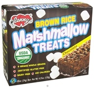 Glenny's - Brown Rice Marshmallow Treats Chocolate - 5 Bars (027393014216)