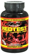 Muscleology - RedTest Testosterone Enhancement Compound - 120 Capsules (829263300012)
