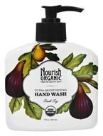 Nourish - Organic Hand Wash Fresh Fig - 7 oz. by Nourish