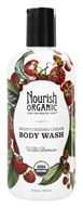 Image of Nourish - Organic Body Wash Wild Berries - 10 oz.