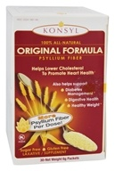 Konsyl - 100% Natural Original Formula Psyllium Fiber (30 x 6 g) Packets by Konsyl