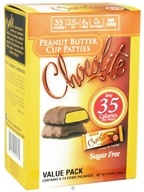 Healthsmart Foods - Chocolite Sugar Free Peanut Butter Cup Patties Value Pack - 6 Pack(s) (857128001705)
