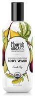 Image of Nourish - Organic Body Wash Fresh Fig - 10 oz. LUCKY DEAL