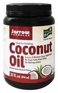 Image of Jarrow Formulas - Organic Coconut Oil - 32 oz.