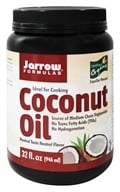 Jarrow Formulas - Organic Coconut Oil - 32 oz.