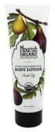 Image of Nourish - Organic Body Lotion Fresh Fig - 8 oz.