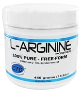 CTD Labs - L-Arginine Powder 5000 mg. - 454 Grams - $34.99