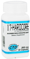 Image of CTD Labs - 17-Hardcore Myotrophic Muscle Developing Agent - 30 Capsules